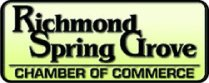 Proud member of the Richmond-Spring Grove Chamber of Commerce