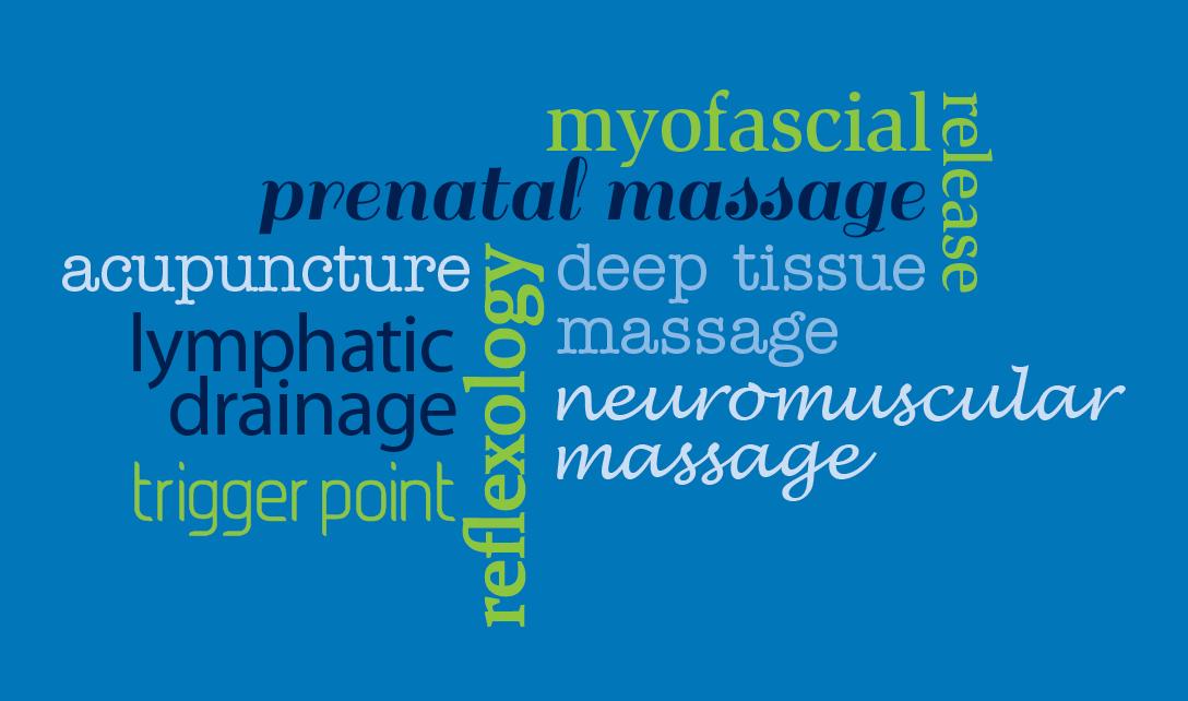 Myofascial, acupuncture, prenatal massage, deep tissue, trigger point
