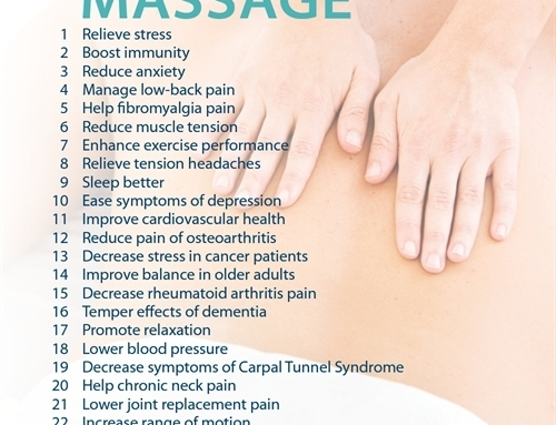Reasons to Get A Massage