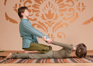 Thai Yoga Massage Stretch