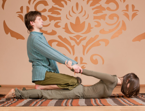By George, Get a Thai Yoga Massage!