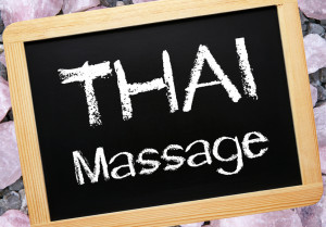 Thai Massage Chalkboard