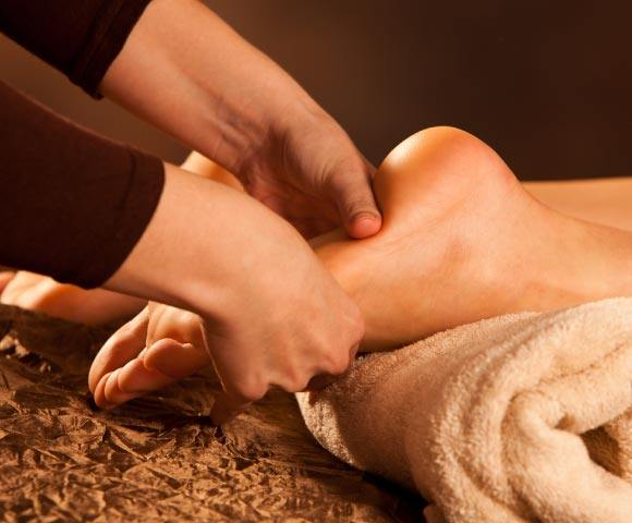 Reflexology at Natural Therapy Wellness Center