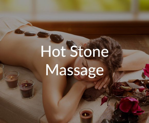 hot stone massage at Natural Therapy Wellness Center in McHenry IL