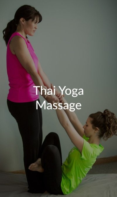Thai yoga massage at Natural Therapy Wellness Center in McHenry IL